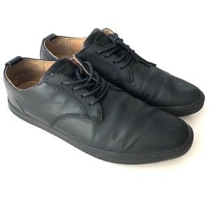 Clae ELLINGTON SNEAKER BLACK LEATHER Shoes